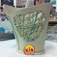 Stage avril 2015 - Expérimentation de la porcelaine papier