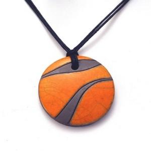 Collier Dune orange