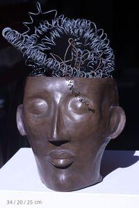 Sculpture tête