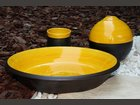 Poterie ardoise et jaune GIOAN ROLLAND - Fabricant à - Arts de la table et culinaire