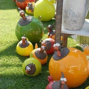 Poules couleurs
