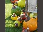 Poules couleurs CERAMOSA - Fabricant à - Sculpture