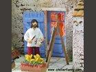 Le peintre ATELIER DE FANNY - Fabricant à - Santons et Crèches