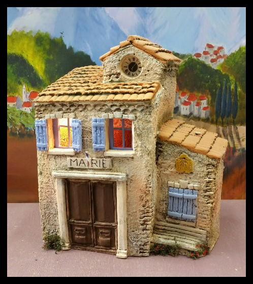 la mairie atelier de fanny fabricant santons et cr ches prides activargile provence. Black Bedroom Furniture Sets. Home Design Ideas