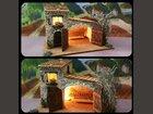La grande étable ATELIER DE FANNY - Fabricant à - Santons et Crèches