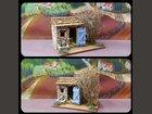 La cabane du berger ATELIER DE FANNY - Fabricant à - Santons et Crèches