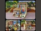 Une maison de village ATELIER DE FANNY - Fabricant à - Santons et Crèches
