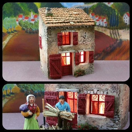 la petite maison de village atelier de fanny fabricant santons et cr ches prides. Black Bedroom Furniture Sets. Home Design Ideas