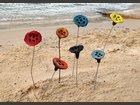 Fleurs de lotus décoratives ATELIER PHA 7 - TERRE - Fabricant à -