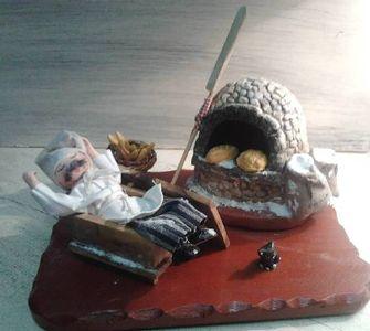 Le boulanger au pétrin