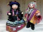 Le couple péruvien LES CENT TONS DE MAMIE - Fabricant à - Santons et Crèches