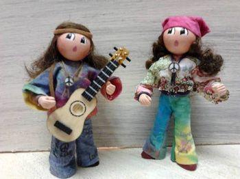 Couple hippies