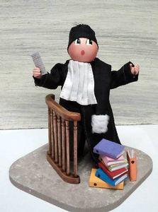 L'avocat en plaidoierie