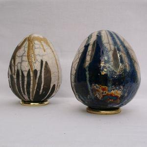 Oeufs céramique