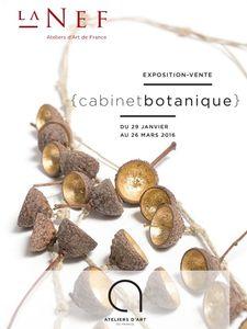Exposition Cabinet botanique 2016