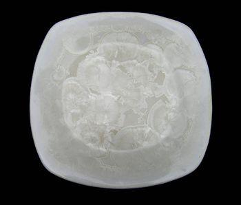Assiette blanc ivoire