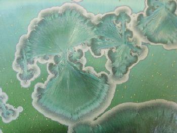 Détail d'un cristal vert