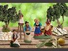 La cueillette des olives SANTONS ESCOFFIER - Fabricant à - Santons et Crèches