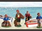 Les pêcheurs SANTONS ESCOFFIER - Fabricant à - Santons et Crèches