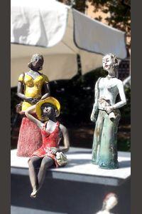 Raku : les trois chéries
