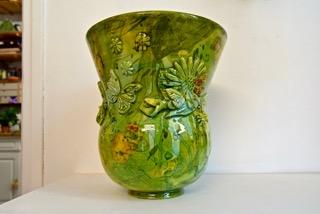 grand vase tourné