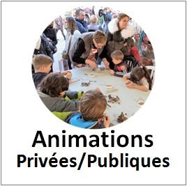 Animations privées et publiques
