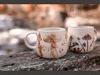 Mugs Champignons TERRE SAUVAGE - Fabricant à - Arts de la table et culinaire