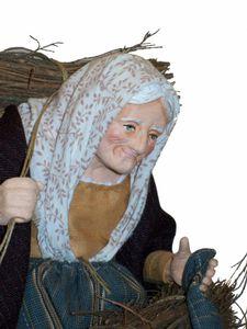 Santon - La femme aux fagots