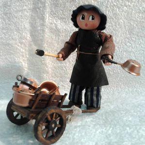 L'étameur et son chariot