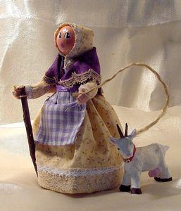 Bergère à la chèvre
