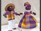 Couple Martinique LES CENT TONS DE MAMIE - Fabricant à - Santons et Crèches