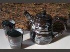 """Théière - décor """"rayures"""" GUIRONNET CORINE - Fabricant à - Arts de la table et culinaire"""