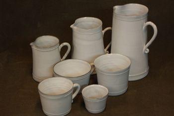 Ensemble Pichets et tasses Bastide