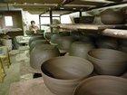 Série de saladiers au séchage BLEU D'ARGILE - Fabricant à - Arts de la table et culinaire