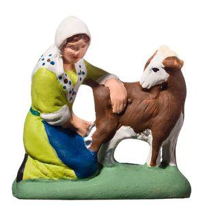 Femme à la chèvre collection 5 cm