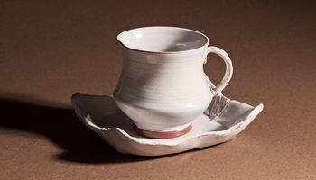 Tasse et sous-tasse