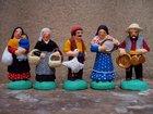 les gitans, santons 6 cm SANTONS LAGRANGE - Fabricant à - Santons et Crèches