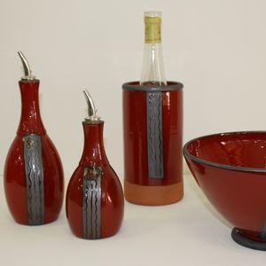 Huilier - Saladier - Brique à vin