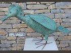 Sculpture oiseau ATELIER BLEU SABLE - Fabricant à - Sculpture