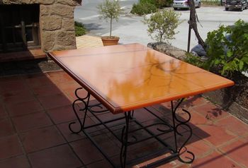 Plateau de table en lave