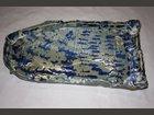 Plat ovale bleu ATELIER LE CRABE BLEU - Fabricant à - Arts de la table et culinaire