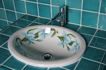 Salle de bain, décor