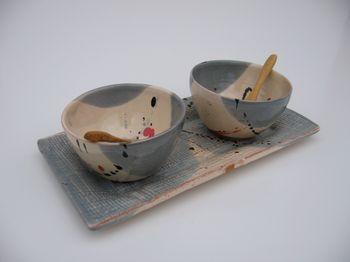Le duo mini-bols avec son petit plateau