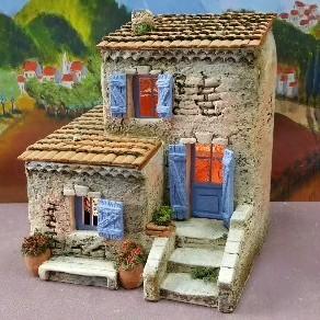 Macciocu gilbert atelier de fanny aubagne prides - Fabrication de maison pour creche de noel ...